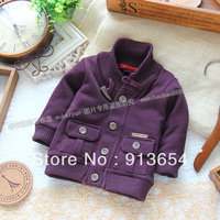 Free Shipping Retail New 2013 Spring Autumn Kids Clothes Baby Outerwear Top Children Cardigan Coat Baby