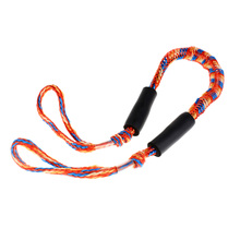 3.5ft Nylon Marine Bungee Dock Line/Boat Mooring Rope Bungee Tie Stretch PP Features A Loop and Slider Bungee Dock Line