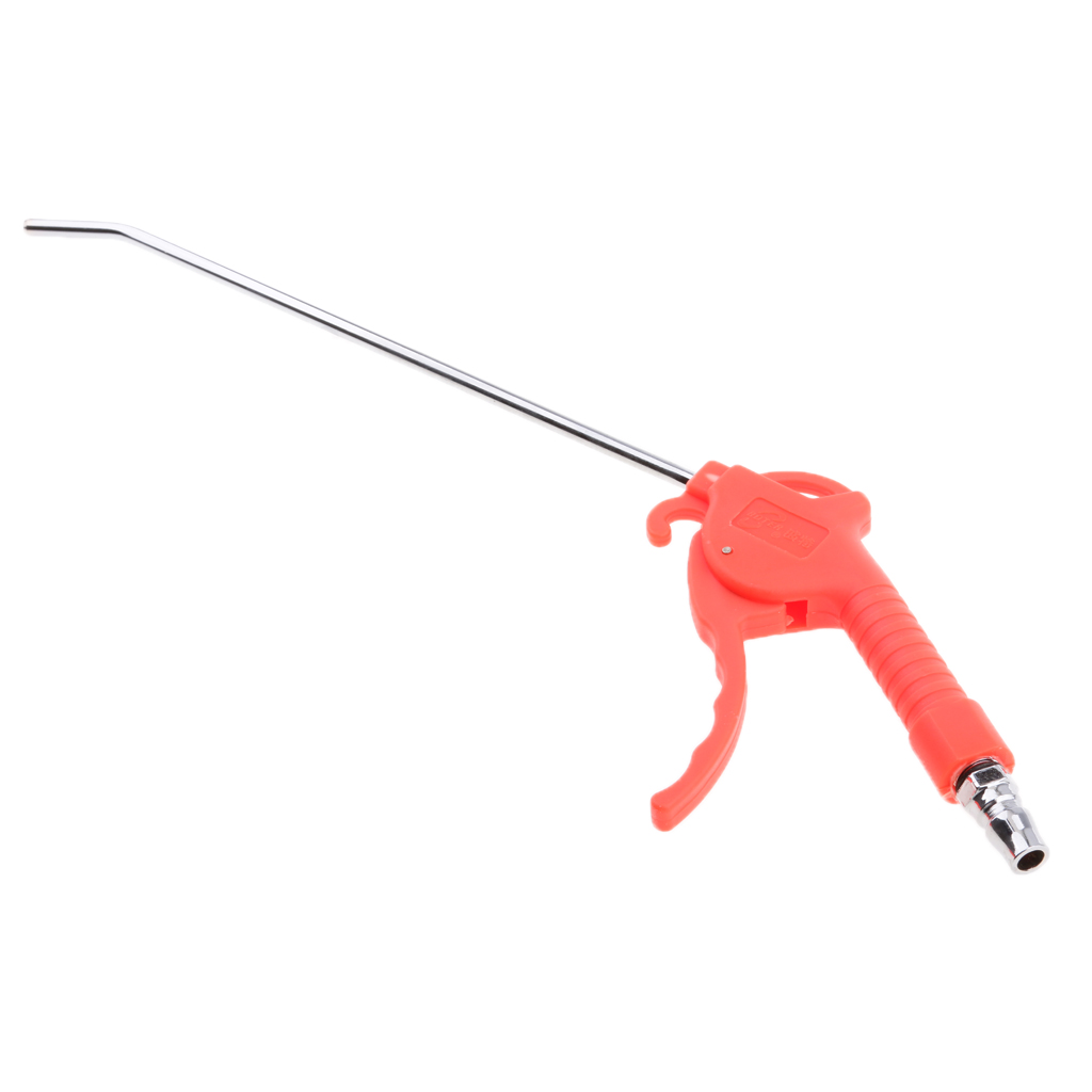 Air Pneumatic Tool Handheld Air Pneumatic Cleaning Tool with Removable Rubber Tip Rust Corrosion Slag Remove Tool 420mm