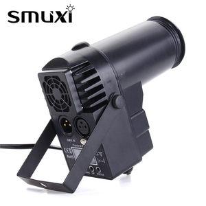 Image 4 - 30W AC110 240V DMX RGBW LED  Light Pinspot Light Beam Spotlight 6CH Professional DISCO KTV DJ  Lighting Effect