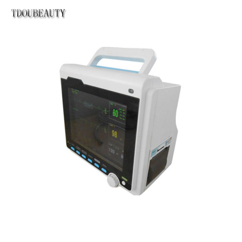 TDOUBEAUTY CMS6000B ICU Patient Monitor with ECG,NIBP,SPO2,Pulse Rate, Temp Resp пилки для лобзика bosch t 101 ao hss 5 шт 2 608 630 031