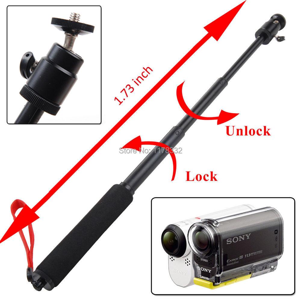 3in1 S @ ONY Action Cam HDR AS20/AS100V/AS200V/AZ1, мини-штатив/Pole Mount
