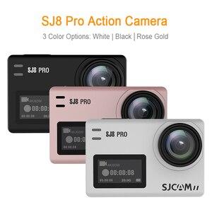 Image 2 - Oryginalna kamera akcji SJCAM SJ8 Pro 4K 60FPS pilot wifi kamera na kask Ambarella Chipset 4K @ 60FPS ultra hd sporty ekstremalne DV