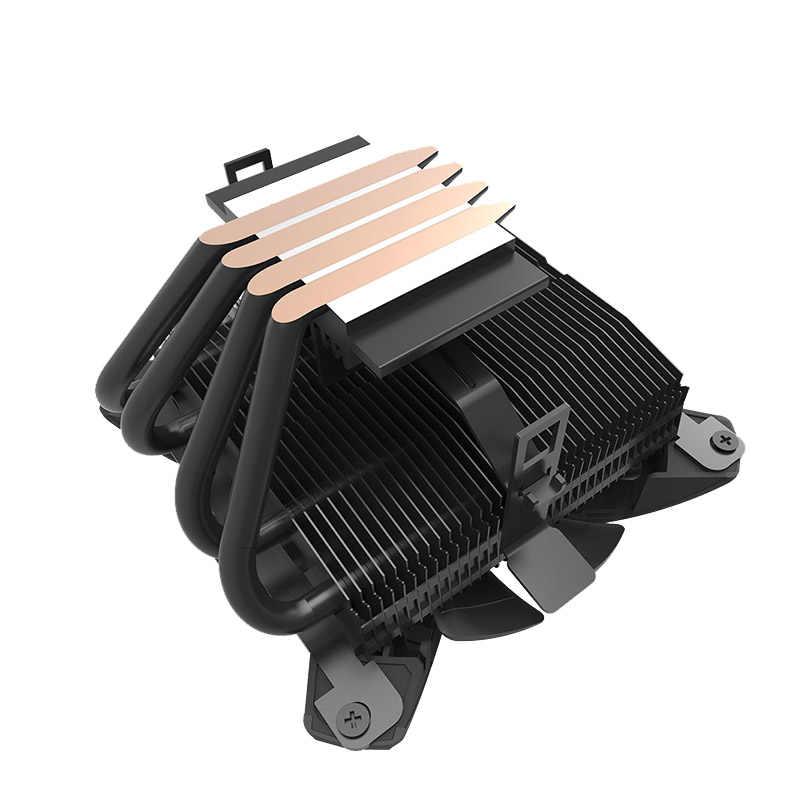 Darkflash Aigo CPU Cooler TDP 280 W ความร้อน 120 มม. เงียบ 4Pin PC ใหม่ล่าสุด CPU Cooling สำหรับ LGA115X /AMD พัดลมคอมพิวเตอร์
