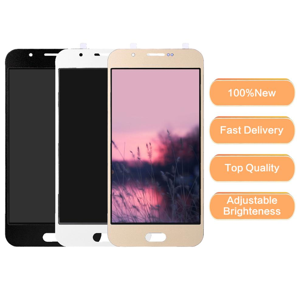 100% Tested Working LCD For Samsung Galaxy <font><b>A8</b></font> 2015 LCD <font><b>Display</b></font> A800 SM-A8000 A800F LCD <font><b>Display</b></font> Touch Digitizer Screen Assembly image