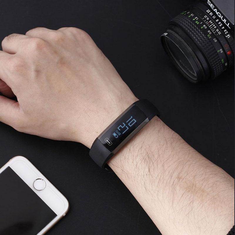 Smart Digital Wrist Watch Band Hartslag Bloedzuurstof Druk - Herenhorloges - Foto 3