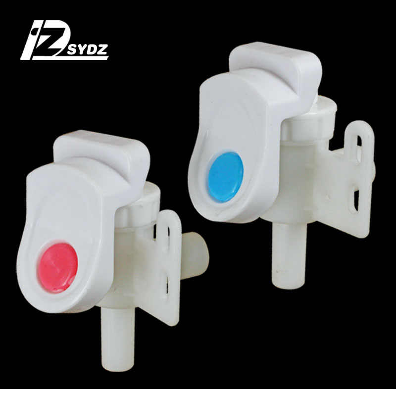 1 pair  Water dispenser faucet / switch faucet hot and cold water mouth piano key press type water dispenser accessories