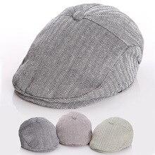 Классическая Детская шляпа на зиму осень, детский берет, детская шапка, мальчики бейсболки, зимние шапки для малышей