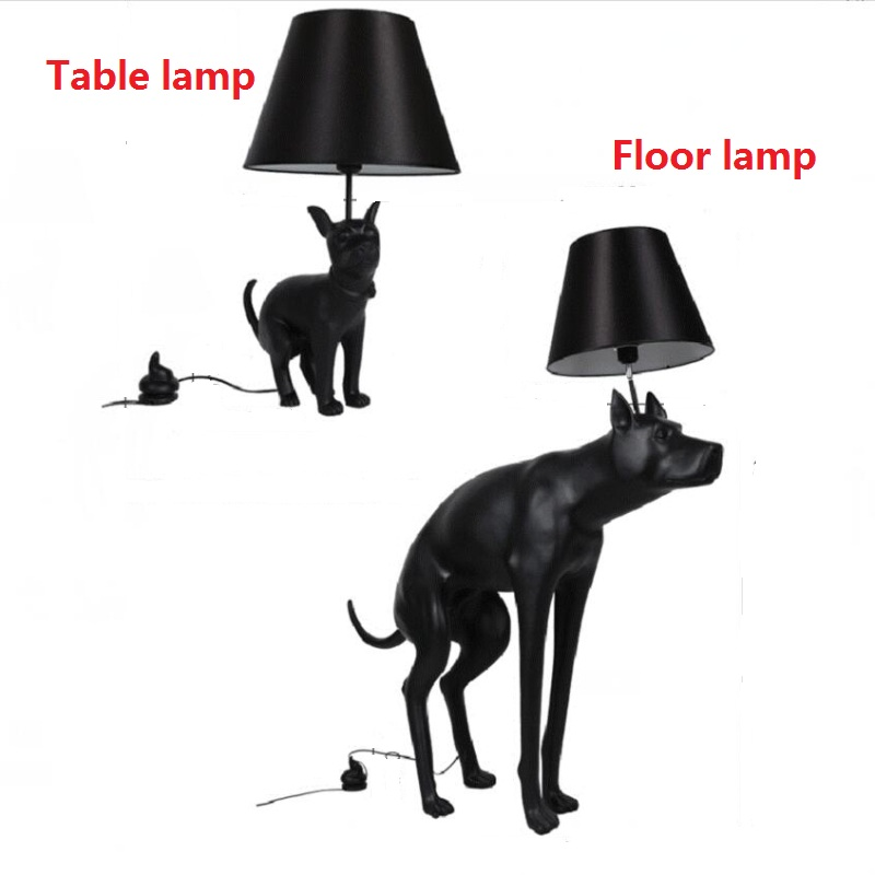 modern black abajur dog desk lamp fixture bedroom study table lamp rh aliexpress com Contemporary Desk Lamps Table Lamps