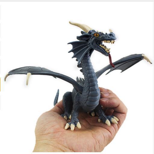 חדש 1 pc מערבי פלסטיק פטרוזאוריה דרקון דינוזאור דגם צעצוע מתנה הטובה ביותר לילדים ילדים צעצועים סיטונאי