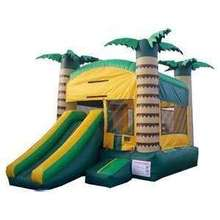 new design commerial use inflatable slide combo/customized inflatable bouncer combo