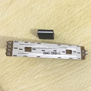 Image 3 - 2 uds. De controlador CROSSFADER DCV1006 para potenciador Pioneer DJM 700 750 800 850 2000, perilla de repuesto DCV 1006 + 2 uds.