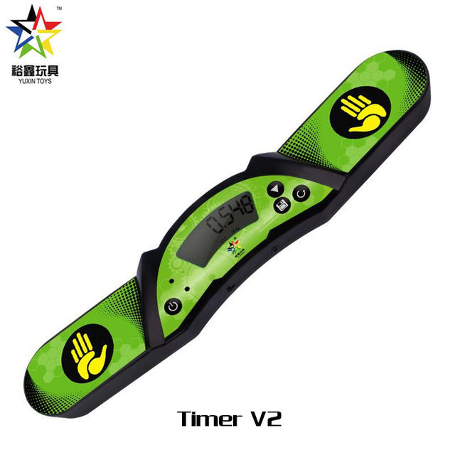 Yuxin speed cube timer v1 v2 high speed timer professional clock machine for magic cube sport stacking for competition Speed Cup