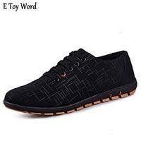 2018 New Fashion Men Shoes Plus Size Casual Shoes Men Canvas Shoes Breathable Low Shoe Laces
