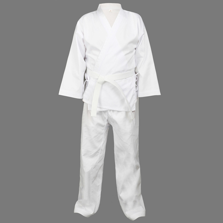 Quality Dobok child adult karate uniform suit WTF Taekwondo kick boxing MMA Martial art training clothes dobok 55%cotton j calicu taekwondo dobok adults children male taekwondo poomsae clothes cool cotton striped genuine for have dan persons karate