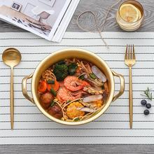 Корейский стиль Ramen горшок для лапши алюминиевый суповый горшок с окисленным покрытием лапша майка яйцо суп приготовление пищи кастрюли кухонная посуда