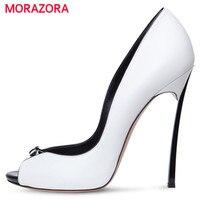 MORAZORA Big Size 34 43 High Heels Shoes Spring Autumn Women Pumps Party Wedding Shoes Bride
