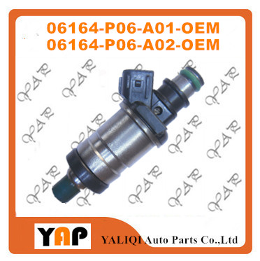 USED Fuel Injector (4) FOR FIT HondaCivic Del Sol S Si 1.5L 1.6L D15B7 D16A3 06164P06A01 06164-P06-A01 06164-P06-A02 1992-1995