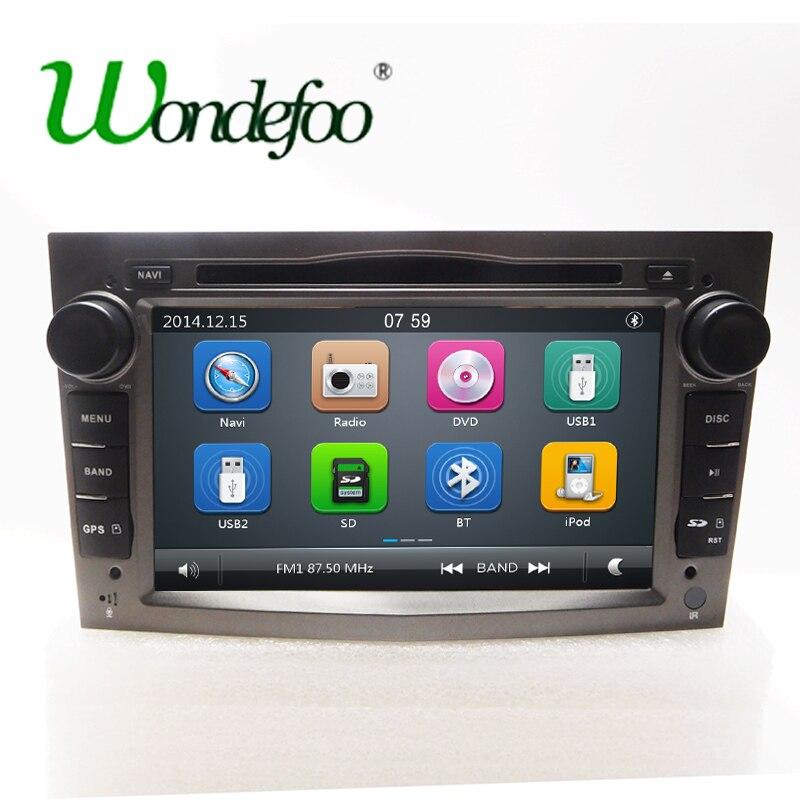 """imágenes para Para Vauxhall Opel Vectra Zafira Antara Corsa Astra H G J 7 """"pantalla táctil del coche DVD GPS de Radio estéreo del coche Doble DIN multimedia"""
