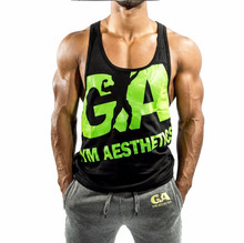 2017 New Arrivals Men Gyms Tank Top Bodybuilding Sleeveless Brand Casual Shirts males's Hot Selling Cultivate One's Morality ves