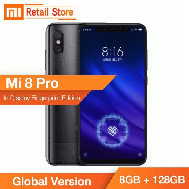 810cfdb4187 Global Version Xiaomi MI 8 Pro 8GB 128GB Snapdragon 845 6.21 2248 1080 Full  Screen Dual AI Rear Camera QC 4.0 IR Face Unlock NFC