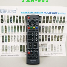 New Universal Remote Control PAN-821 For Panasonic TV N2QAYB