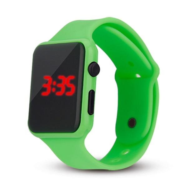 Children Fashion Watch Colorful Led Boy Girl Electronic Student Sport Watches Kids Clock Digital Wristwatch Mens Watch