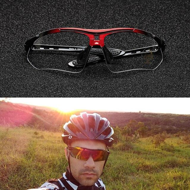 Comaxsun polarizado profissional óculos de ciclismo óculos de bicicleta esportes ao ar livre óculos de sol uv 400 com 5 lente tr90 2 estilo 2