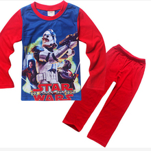 STAR WARS 3 To 11 Years Children Clothing Set Baby Boys Clothes Sets Cotton Children Baby
