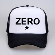 Smashing Pumpkins Alternative Pop Rock Music Band Baseball caps Zero Star Logo Printed rock cap Summer cool Mesh Net Trucker Cap