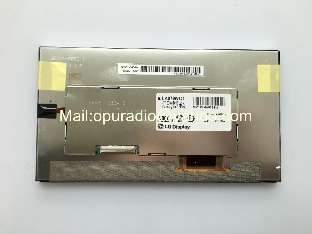 Brand new L G 7inch LCD display LA070WQ1 TD01 LA070WQ1 TD02 screen for Mercedes Buick Bosch