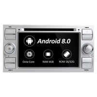 Car Multimedia Player Android 8.0 GPS Autoradio 2 Din 7 Inch For Ford/Mondeo/Focus/Transit/C MAX/S MAX/Fiesta 4GB RAM 32G ROM