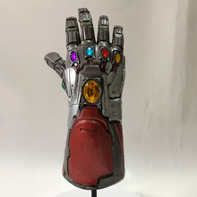 Avengers 4 Endgame Iron Man Infinity Gauntlet Hulk Cosplay Arm Thanos Gloves Marvel Superhero Mask