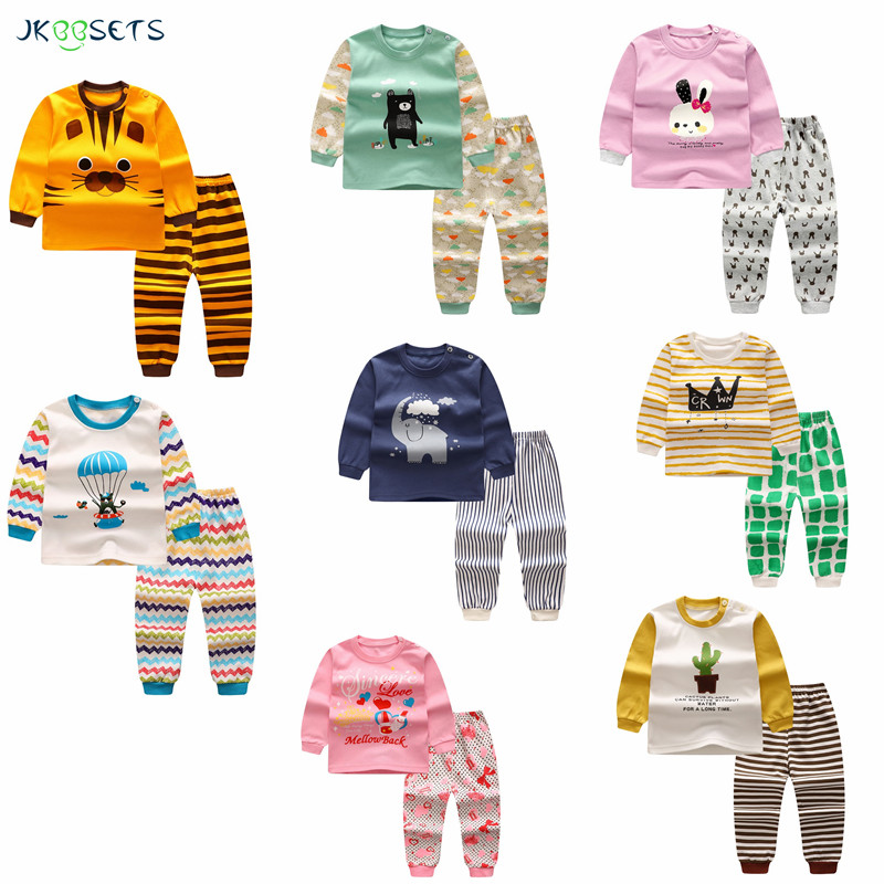 winter newborn baby boy clothes Kids Pajamas sets Children cotton baby girl clothing Cartoon baby clothing Sets Suit children s suit baby boy clothes set cotton long sleeve sets for newborn baby boys outfits baby girl clothing kids suits pajamas