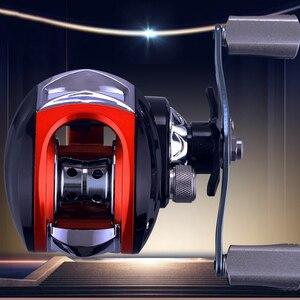 Image 4 - YUYU Baitcast Рыболовная катушка металлическая катушка тормоза 6 кг Высокая скорость 7,2: 1 катушка приманки 14 + 1BB магнитная катушка для литья тормозной приманки