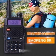 BAOFENG UV-5R ham radio Radio de Doble Banda 136-174 Mhz y 400-520 Mhz Baofeng UV5R mano Dos vías de Radio Walkie talkie
