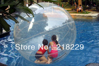 high qualtity water walking ball diameter 1.2 M safety load 180 KG 0.8mm transparent PVC durable and hard