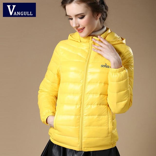 New 2016 Winter Autumn Women 90% White Duck Down Jacket Women's Hooded Light Down Jackets Warm Winter Coat Parkas High Quality