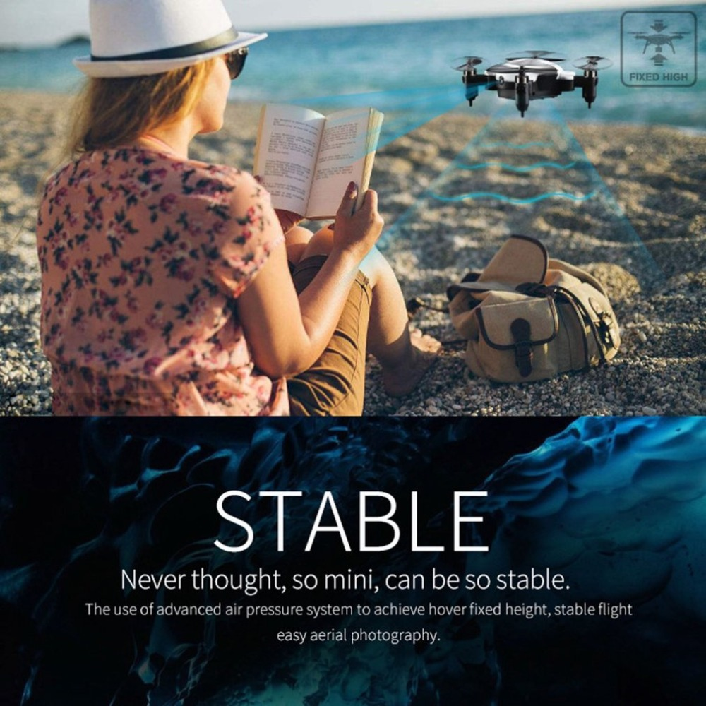 Mini Folding RC Drone With Wifi FPV Camera Photography Drones Quadrocopter Altitude Hold Headless Mode Helicopter mini q39w drone rc quadcopter helicopter drones dron with wifi fpv 720p hd headless mode altitude hold aircraft toy for boys