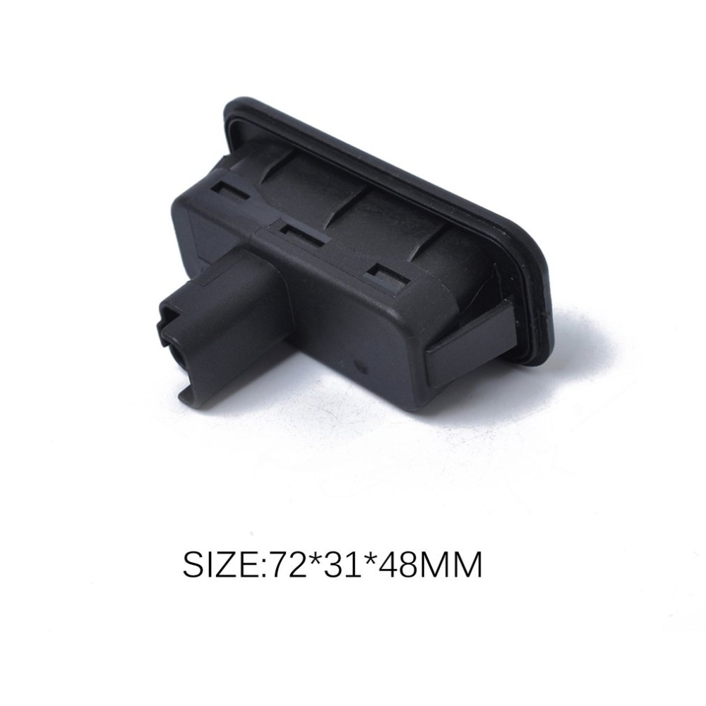 Hot Car Back-up Switch Boot Tailgate Trunk Release Switch 8200076256 for Renault Clio Megane Captur Kangoo Black Luggage Switch