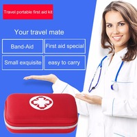 Multifunctional Portable 18 Pcs Fully Equipped Travel First Aid Kit Waterproof Durable Household Emergency Bag Emergency