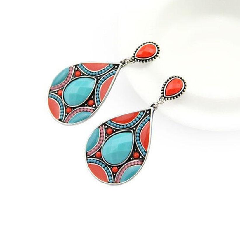 Boho Drop Earrings For Women...