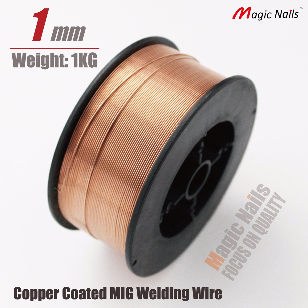welding flux gas shielding mig stainless steel CO2 gas mild metal arc solid 1mm spool reel accessories copper solder rod