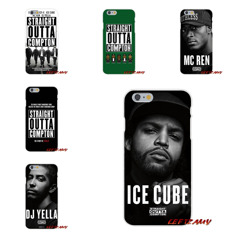 Ultra Thin Case Straight Outta Compton NWA Night Watch Art For Samsung Galaxy S3 S4 S5 MINI S6 S7 edge S8 S9 Plus Note 2 3 4 5 8