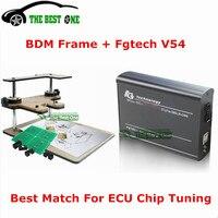 Juego completo de adaptadores de Marco BDM + Fgtech Galletto 4 Master V54 OBD2, herramienta de sintonización de Chip ECU, soporte función BDM envío gratuito con DHL, envío
