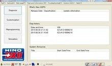 Hino Диагностики eXplorer 2-Hino DX2 1.1.16.7 + база