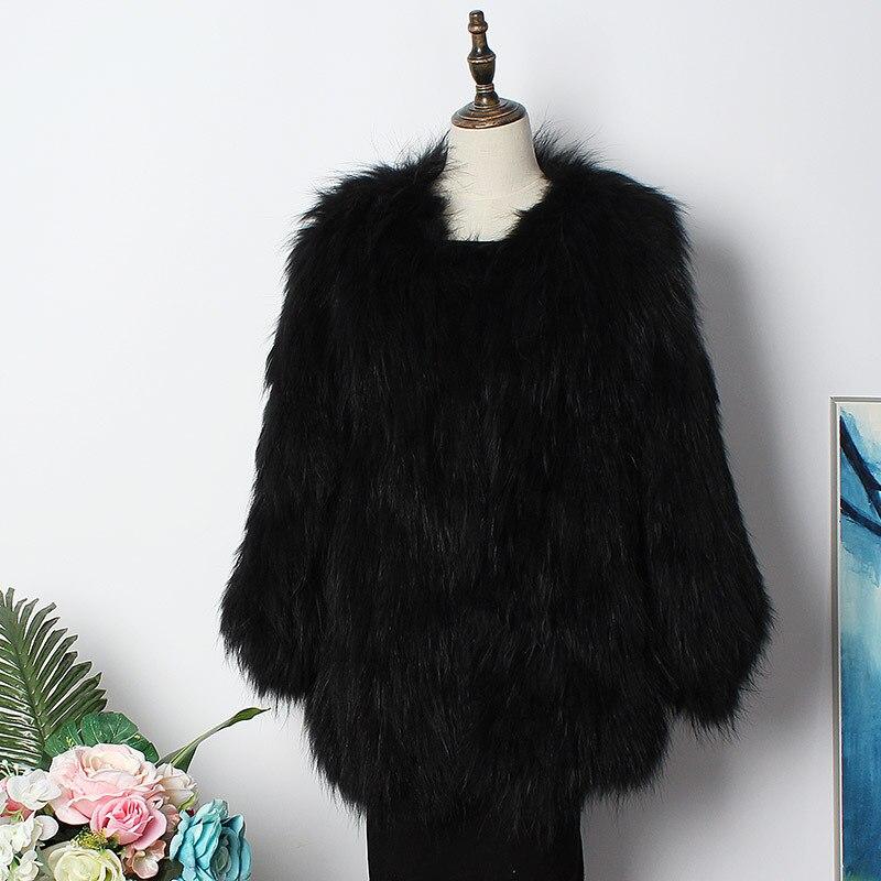 Tricoté Parkas Chaud Causal Raton 5 Réel De 2 Veste 4 D'hiver Femmes Mode Nouvelle 3 2018 Naturel 1 Laveur Épais Longue Manteau 6 Parka Survêtement Fourrure xaZOyTfw