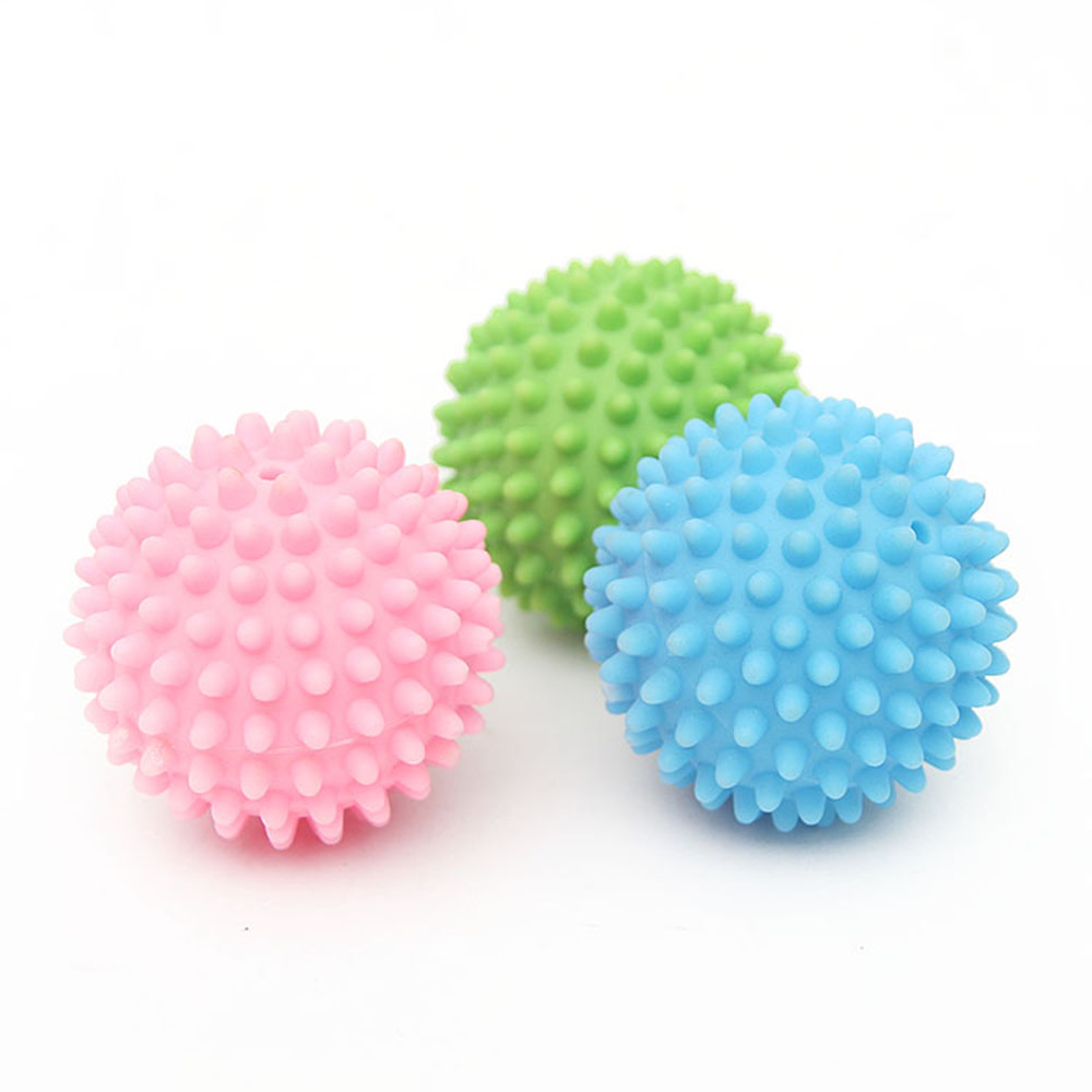 3PCS  Household Laundry Ball Anti-winding Cloth Care Cleaning Ball Soft Plastic Home Washing Machine Ball Dry Laundry Product