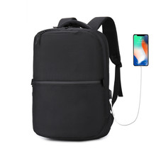 OZUKO NEW Casual Business Backpack laptop Men 1680D Oxford USB charging Travel Anti Theft Waterproof zipper