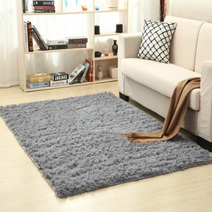 Super Soft Silk Wool Rug Indoor Modern Shag Area Rug Silky Rugs Bedroom Floor Mat Baby Nursery Rug Children Carpet(China)